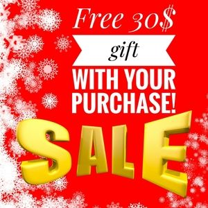 Free $30 gift with your purchase!!!!